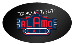 Alamo Cafe Mobile Logo